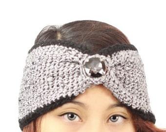 "Plain Elain ""Jewelia"" Turban Headband"