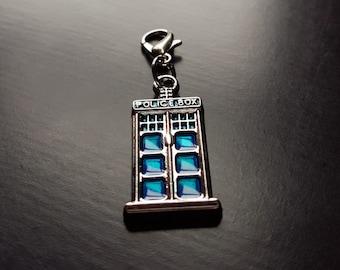 Tardis Dangle Charm for Floating Lockets-Gift Ideas for Women