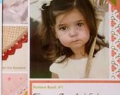 Edgit! Book & Crochet Hook Set  Pattern Book #1 Fancy Crochet Edges by Cony Larsen  Ammee Co. Learn to Crochet on the Edge!