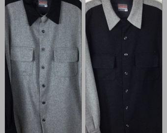 Swankys Pendleton style board wool shirt