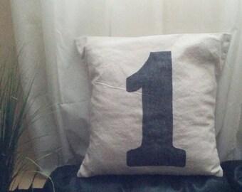"""Handmade Pillow Cover 18"""" x 18"""" (45.7cm x 45.7cm) - Canvas no. 1"""