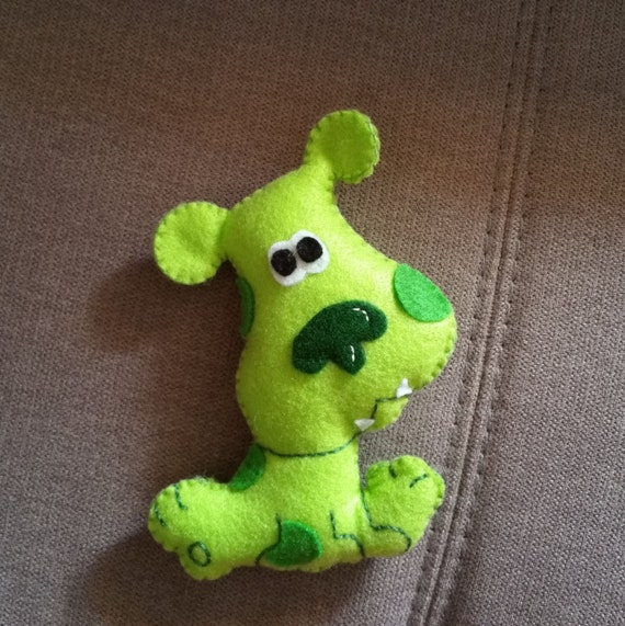 Green Puppy Blues Clues Plush related Keywords and Tags