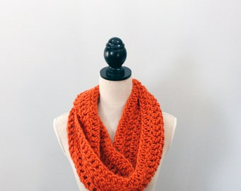 Crochet Scarf Infinity Scarf Crochet Infinity Scarf Cowl Scarf Crochet Cowl Scarf Gifts for Her Crochet Scarf Chunky Crochet Scarf