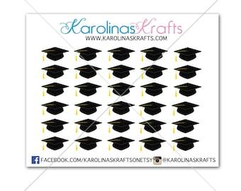 30 Graduation Stickers! ECLP stickers, Erin Condren Stickers, Happy Planner Stickers, Personal Planner Stickers, Event Stickers  #SQ00017