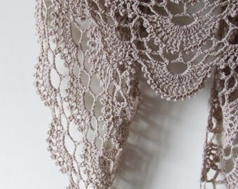 Anna Shawl PDF Crochet Pattern