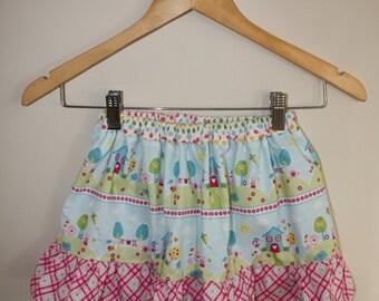 Little Gracie Ruffled Skirt