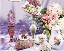 PDF Crochet Barbie Miniature Shoes, Crochet Barbie Bag, Barbie Antique Rose, Crochet eBook, Barbie Shoes Pattern, Vintage, English
