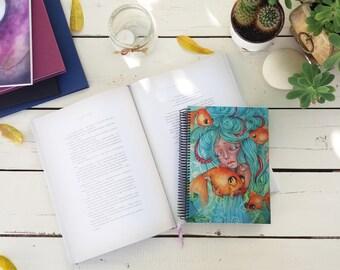 """Notebook A5 """"Soñar con la inocencia"""" 15 x 21 cm // 5 x 8"""""""