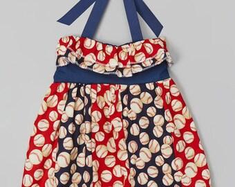 Baseball Dress, Girls baseball twirl, girls baseball outfit, baseball set, baseball outfit, baseball girl