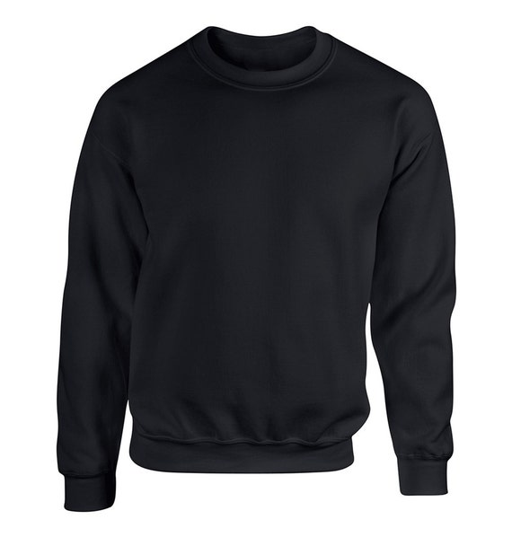 Items similar to blank black and white adult unisex for Black sweater white shirt