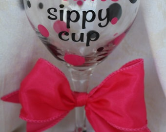 Mom's sippy cup wine glass  (item #2-3-msc)