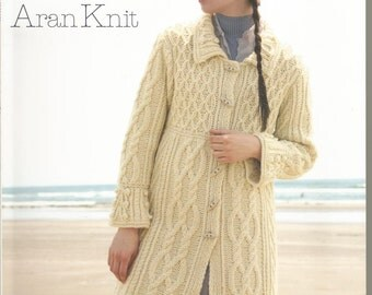 Aran Knit for Women -- Japanese Knitting Book (Out of print)