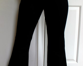 Urban Outfitters High Waisted Black Flare Jeans
