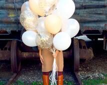 Balloon Bouquet | Confetti Balloons | FREE SHIPPING