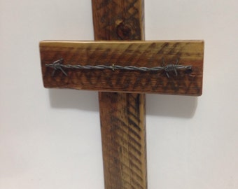 Wooden Cross,Wall Cross, Rustic Cross, Reclaimed Wooden Cross