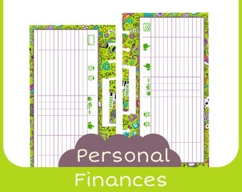 refill finances Personal music style - Printable -