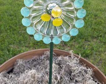 Glass Daffodil Garden Flowers