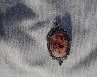 Freckle Jasper Pendant