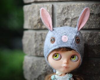 Blythe hat bonnet BUNNY from Blablablythe