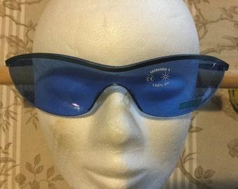 Original Aigle Unisex Danaho Blue Vintage French designer sunglasses - a must-have summer accessory  SG010004