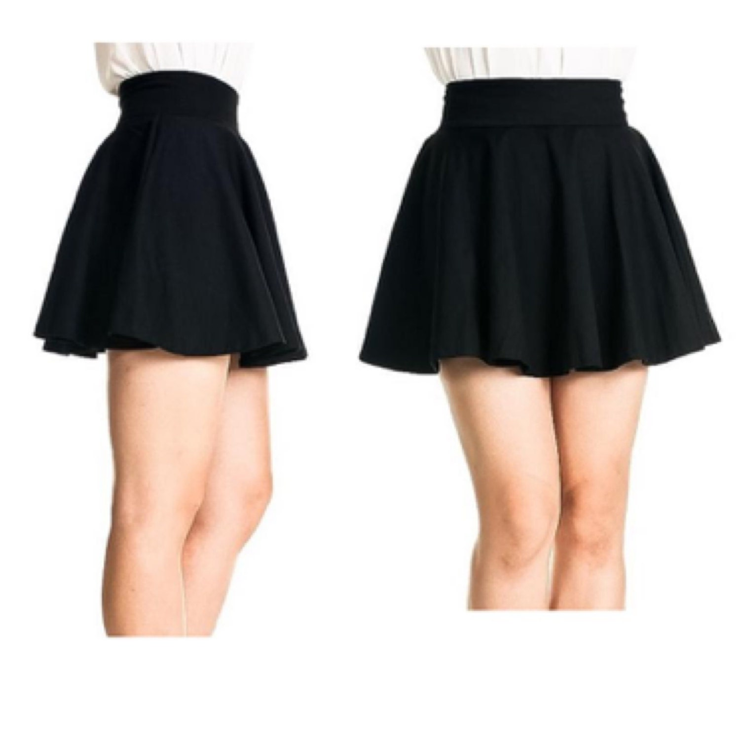 Short skirts make for fun casual outfits, while long skirts can be formal or casual, depending on the material and cut. These skirts come in different shapes, including pencil, A-line, and peplum. Selecting which cut of skirt you want depends on where you're planning to wear it .
