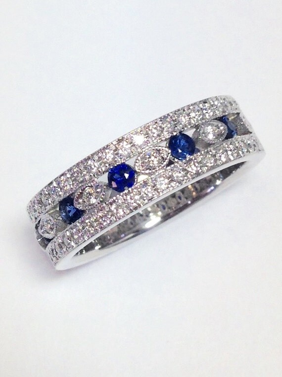 3 4ct diamant bague saphir bleu couleur pierre diamants. Black Bedroom Furniture Sets. Home Design Ideas