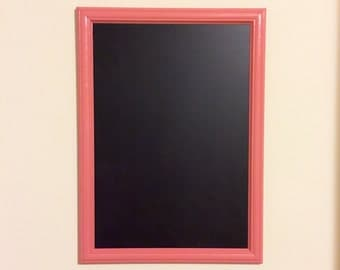 Coral Chalkboard / Kitchen / Office / Home School