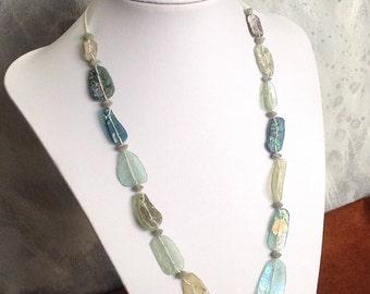 Roman Glass Beads Ancient Antique OOAK    RG-109