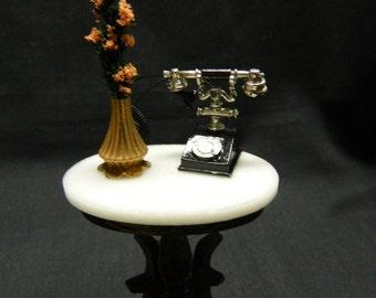 1 Inch Scale Dollhouse Miniature Telephone