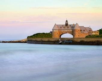 The Towers ~ Narragansett, Rhode Island, New England, Photography, Nautical, Beach, Coastal Decor, Artwork, Photograph, Blue, Aqua, Joules