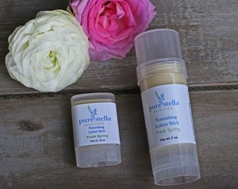 Fresh Spring Lotion Stick - Limited Edition all natural moisturizing hard lotion stick