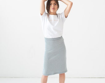 Skirt patterned - Ping pong