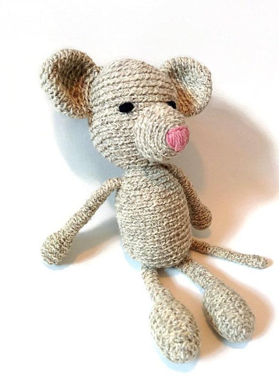 Mouse Crochet Crochet Mouse Amigurumi Amigurumi Kids by VIRKKA