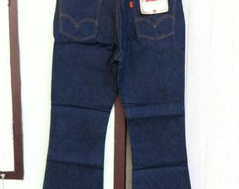 Vintage Levi's 646 Single Stitch Bell Bottoms W36 L29 Deadstock