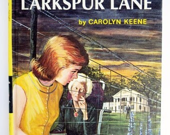 Password to Larkspur Lane, Nancy Drew, Vintage Kid's Books, Children's Toys, 1960's