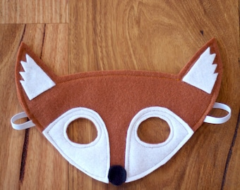 Fox Mask - Felt Dress up Mask