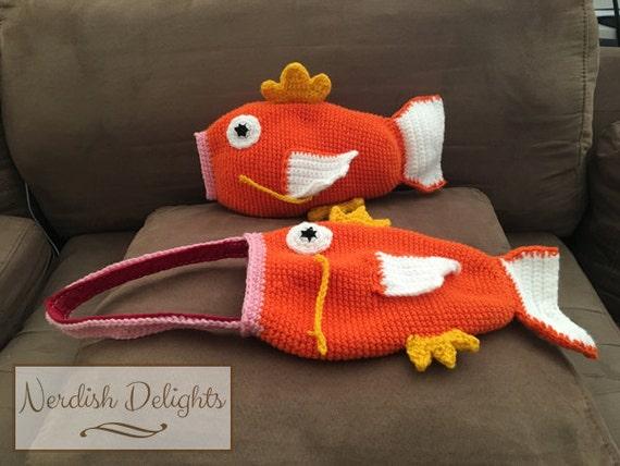 Crochet pattern for Magikarp handbag or plush toy