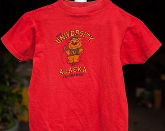 Vintage Youth University of Alaska Fairbanks T-shirt