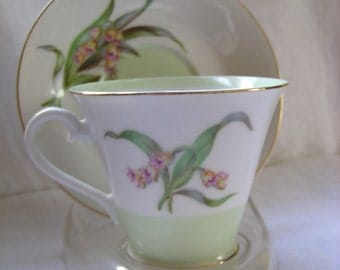Jyoto Made in Occupied Japan Tea Cup and Saucer