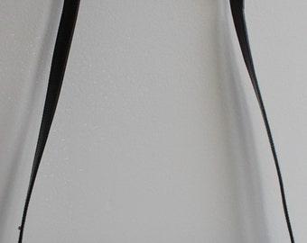 GUCCI bag Vintage 80s black lizard