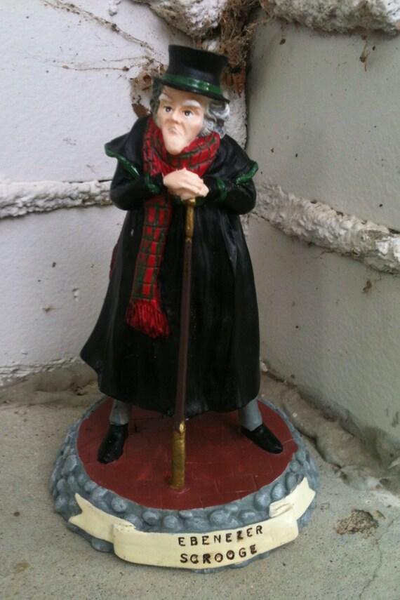 Ebenezer Scrooge vintage figurine Charles Dickens A