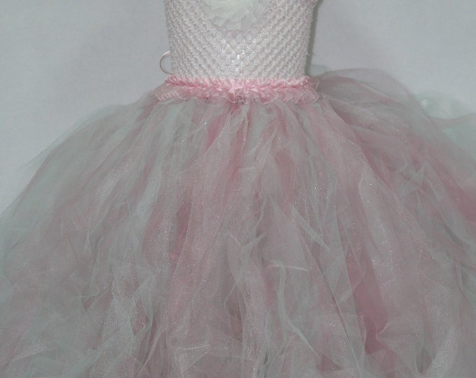 Flower Girl Dress, Baby Girl Tutu Dress,Toddler Girl Tutu Dress, Baby Girl Easter Dress, Girls Easter Dress,Wedding Flower Girl Dress