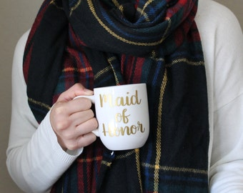 Maid of Honor Mug, Option to Personalize, Wedding Gift for best friend