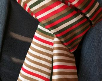 Beautiful ECHO silk scarf - signed