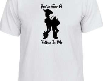 Disney Toy Story inspired You've Got a Friend In Me tshirt