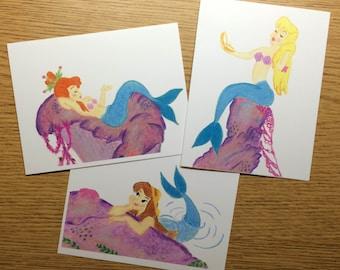 Mermaid Card Set