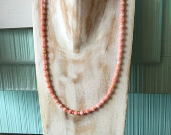Kitschy Coral Necklace