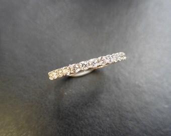 18ct Diamond band Ring