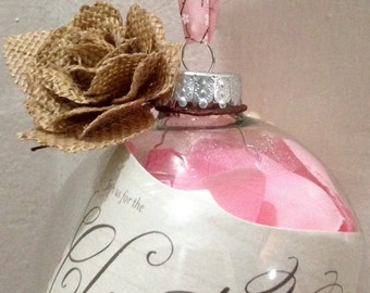 Personalized Christening Ornament