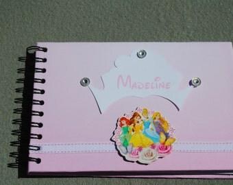 Disney Princess Autograph/Photo/Sketch Book